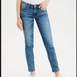 American Eagle Skinny Jean Medium Wash Stretch